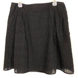 Willi Smith A-Line Polka Dot Skirt -Size 12